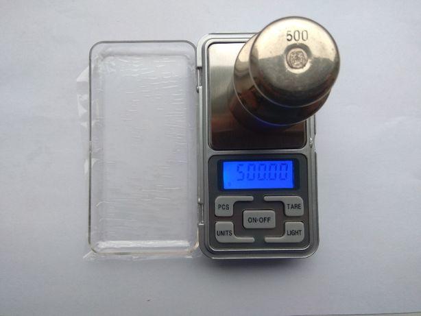 Весы ювелирные точность 0.01 до 500 грамм