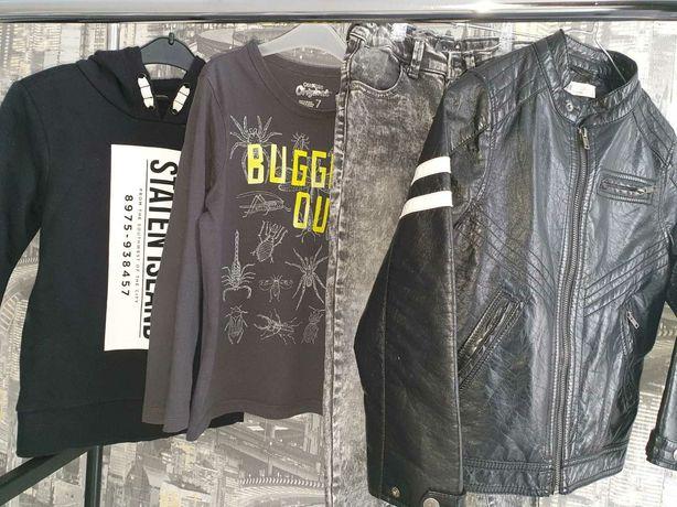 Модный лук! Комплект одежды : Джинсы reserved,  реглан, кеды  converse