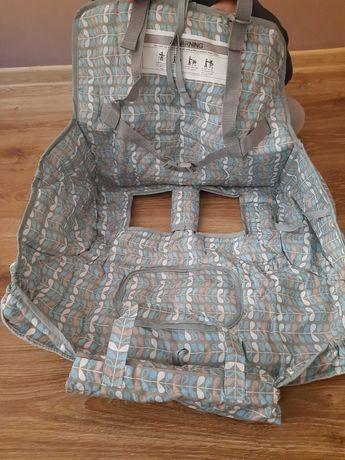 Wkład higieniczny do wózka sklepowego dla dziecka
