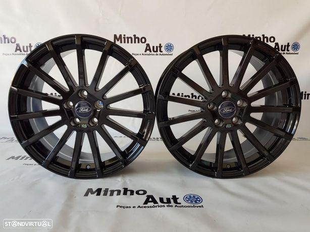 """Jantes Ford Focus RS em 18"""" Gloss Black"""