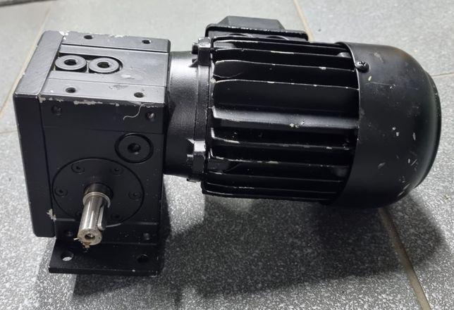 Motoreduktor kątowy 230obr z silnikiem elektrycznym 0,18kw