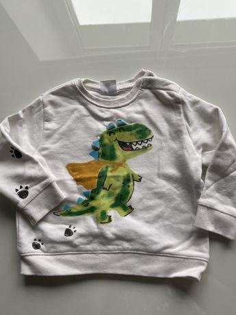 Bluza zara dino dinozaur fajna