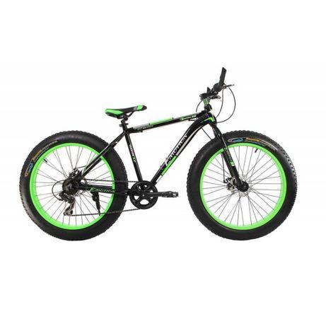 """Fatbike велосипед E-motion GT колеса 26"""" х 4"""" алюминиевая рама 19"""""""