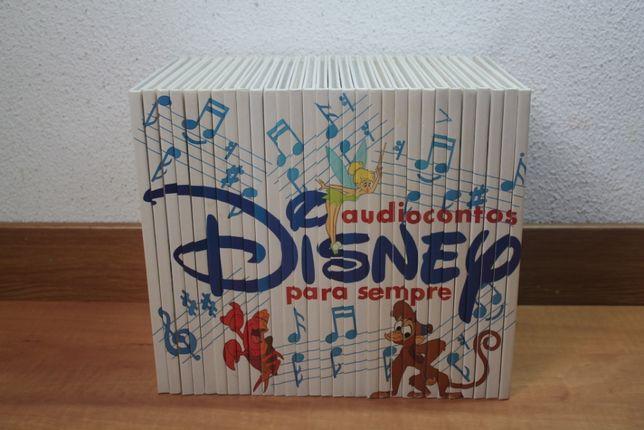 30 livros de Audiocontos Disney Para Sempre da Ediclube