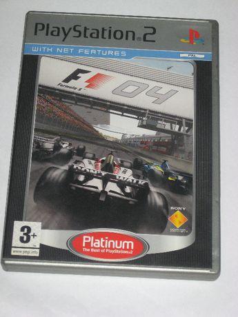 Gra Formula One 04 Formuła 1 F1 3xA PS2 BDB ENG!