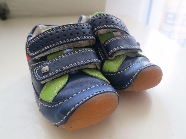 Buciki, buty skórzane Elafanten r. 18