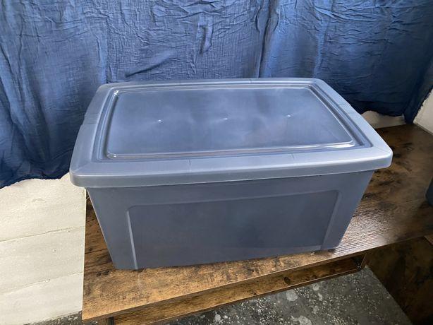 Pojemnik do przechowywania z pokrywka 50L