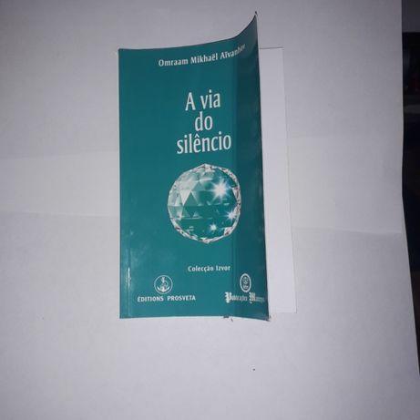 Livro A Via do Silêncio de Osho
