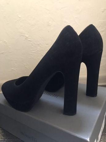 Туфли замшевые Minnelli
