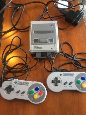 Consola super nintendo mini classic - com 200 jogos