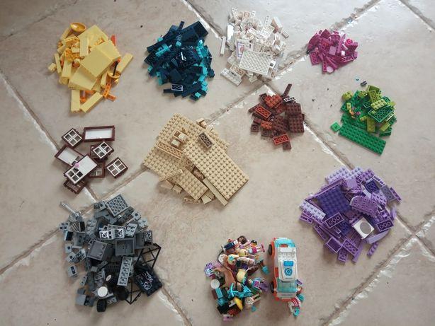 Oryginalne klocki LEGO + figurki i dodatki