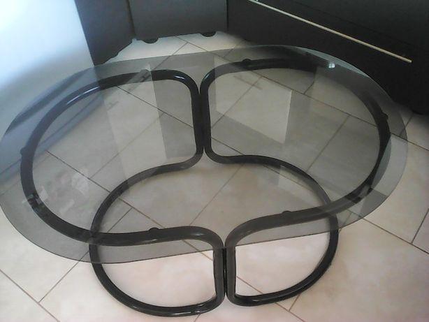 Ława pokojowa szklana+ fotel