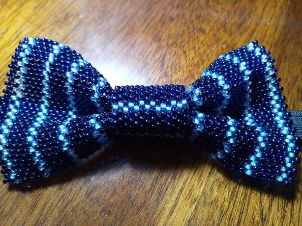 галстук-бабочка мальчуковая ручной работы