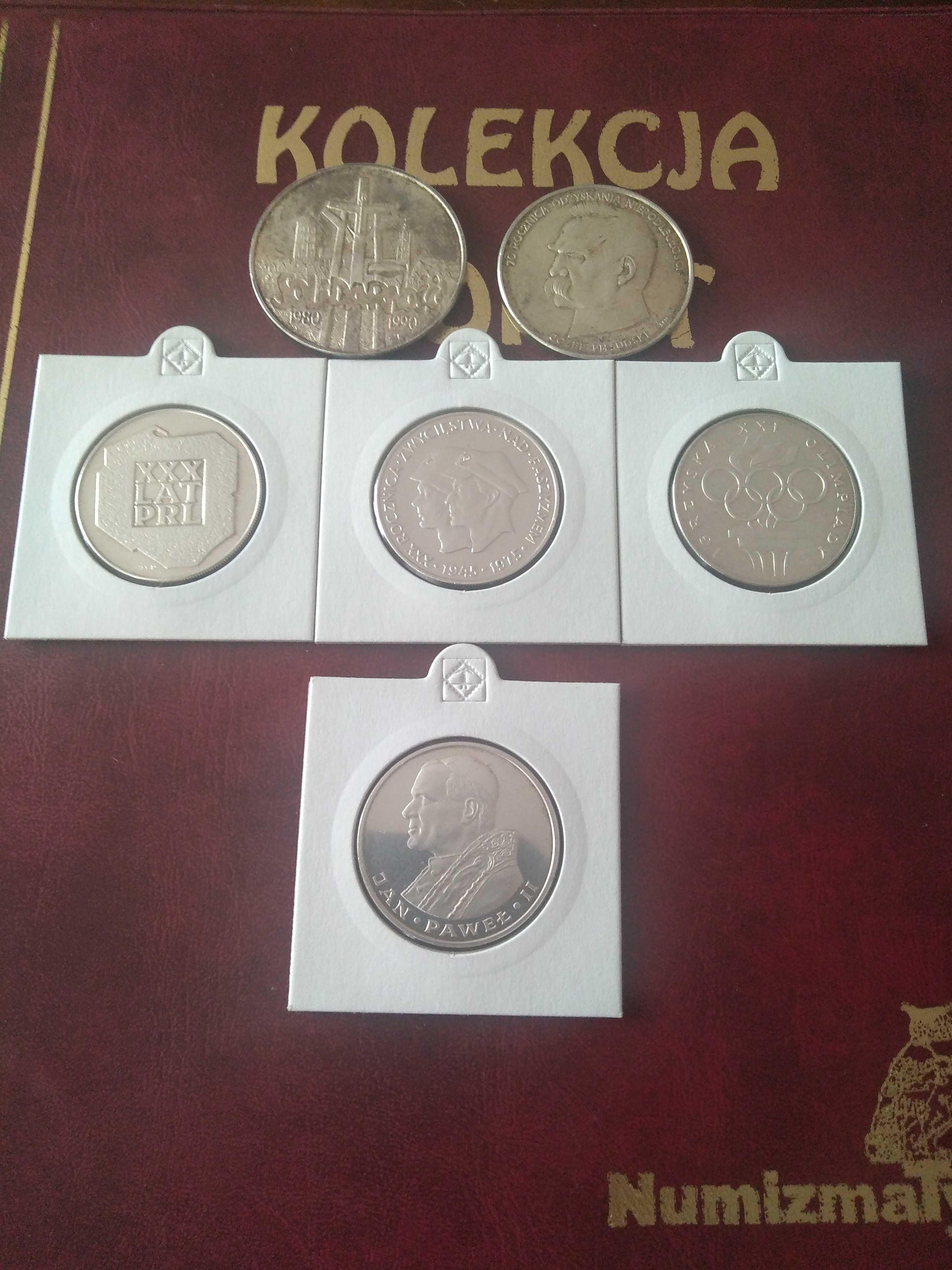 Cena Ostateczna!! Klaser z monetami PRL 1949 - 1992  234 monety
