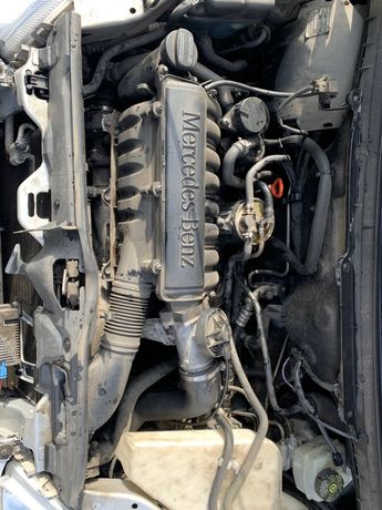 W168 мотор mercedes A170 1.7D двигатель OM668