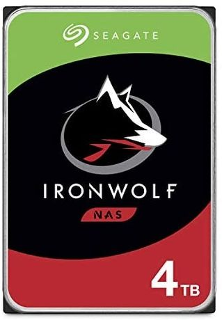 "Seagate IronWolf 4TB HDD – CMR 3.5"" SATA 6"