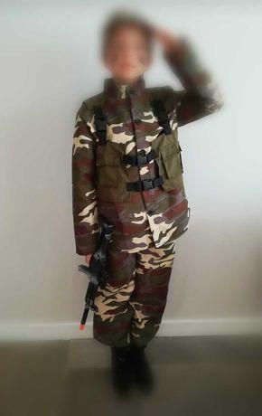 Disfarce militar 7-9anos
