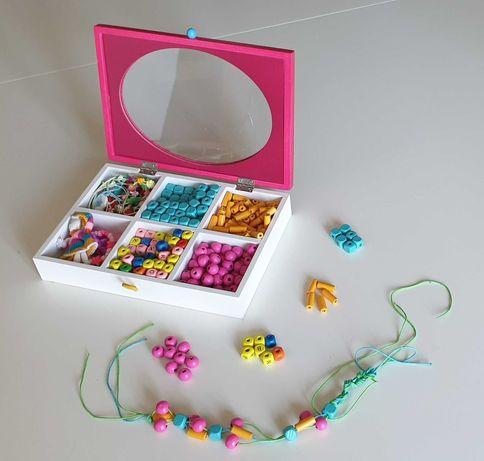 Kit para confeção de colares e pulseiras - Imaginarium