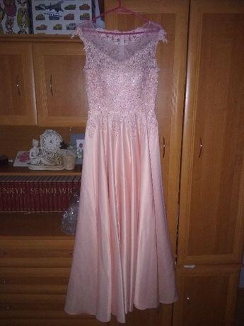 suknia długa weselna