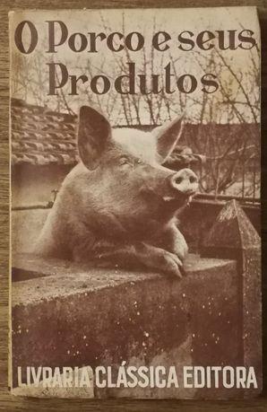 o porco e os seus produtos, livraria clássica editora