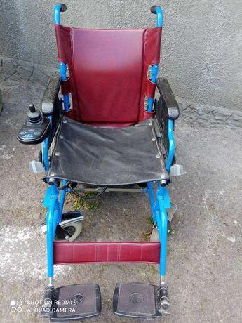 Інвалідний візок з електроприводом б/в
