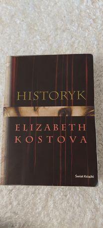 "Książka ""Historyk"" Elizabeth Kostova"