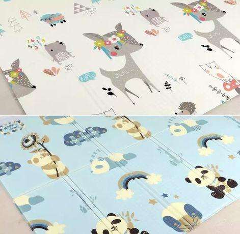 Продам новый развивающий детский термо коврик