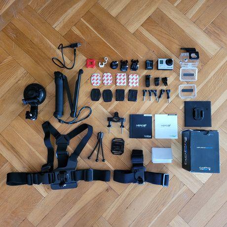 GoPro Hero 3+ Black + duży zestaw akcesoriów!