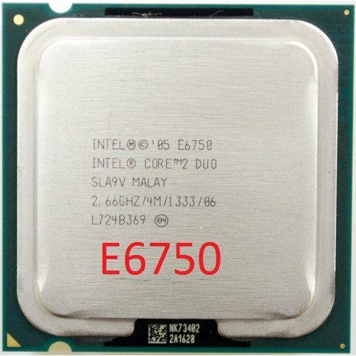 Процессор LGA775 Core2Duo E6750 и аналоги на сокете 775