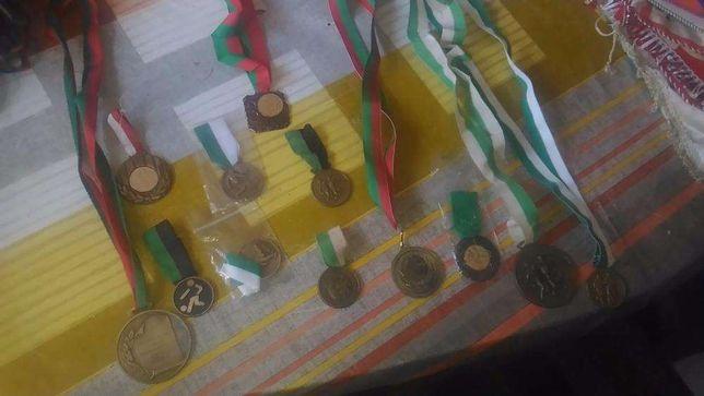 Lote de troféus desportivos