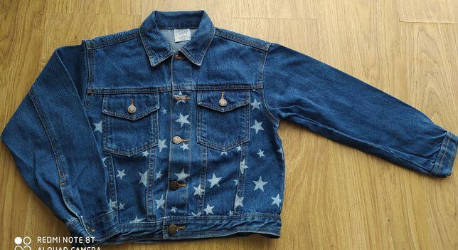 Kurtka katana jeans dziewczyna 134