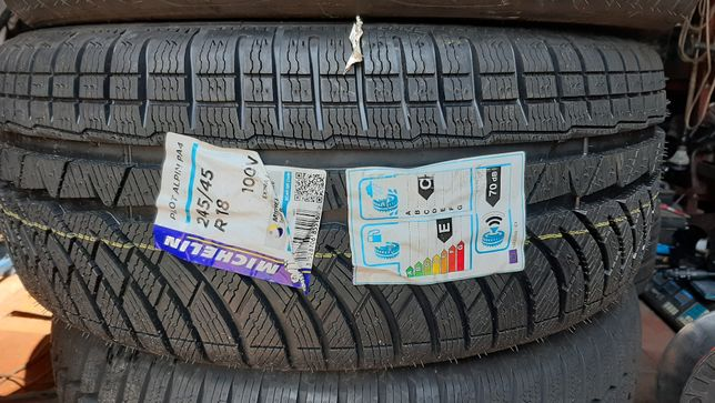 michelin pilot alpin pa4 245/45/18 nowa dot 4416