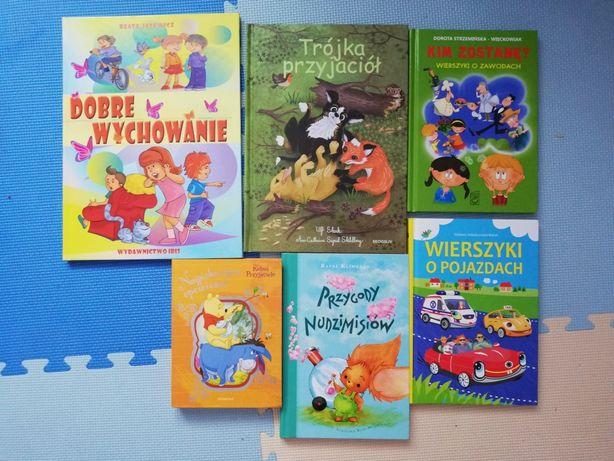 Książki dla dzieci stan ideał jak nowe,
