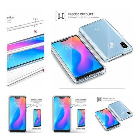 Capa 360º P/ iPhone 6 / 7 / 8 / 6 Plus / 7 Plus / 8 Plus -PC+Tpu (PVT