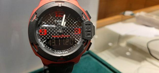 PROMOCJA Tissot T0814.2097.20700 T-Race Touch Aluminium NOWY