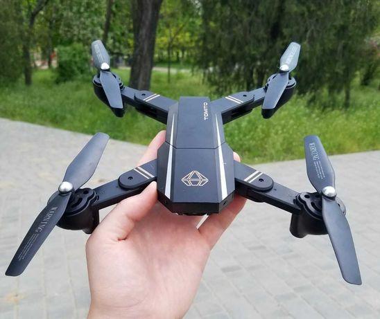 Подарок квадрокоптер складной Phantom с WiFi и камерой. Дрон