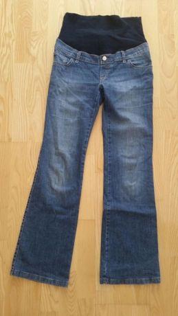 Spodnie dżinsy ciążowe niebieskie 38 Bebefield