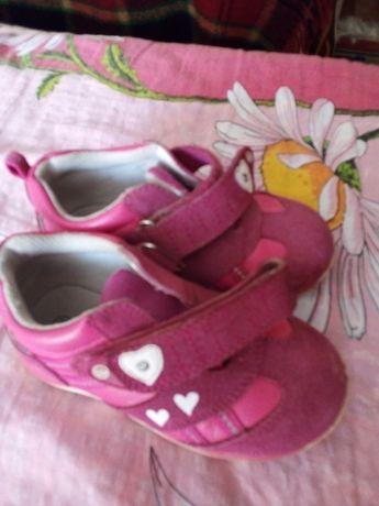 Детская обувь кроссовки на девочку размер 25