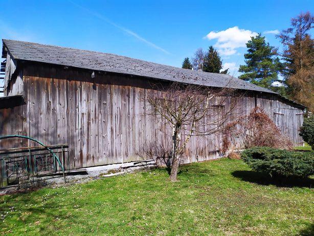 Sprzedam stodołę do rozbiórki. Zdrowe deski i bale