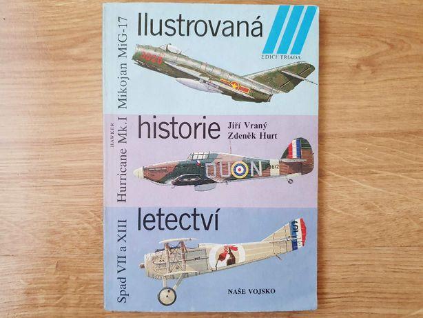 Ilustrowana historia lotnictwa, książka czechosłowacka