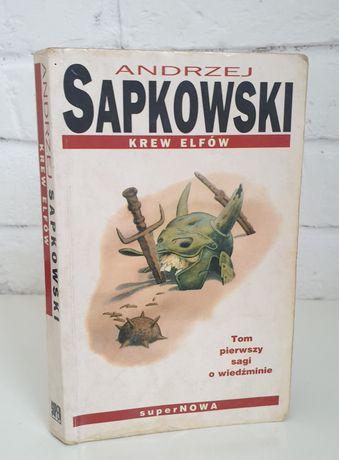 Książka Andrzej Sapkowski - Krew elfów