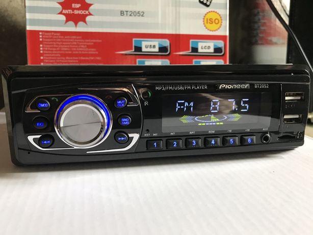 Автомагнитола Pioneer 2052BT с Bluetooth