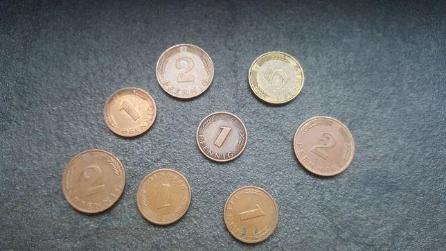 Zestaw monet z Niemiec