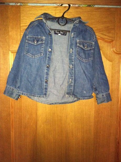 Детская джинсовая куртка мом Gee Jay