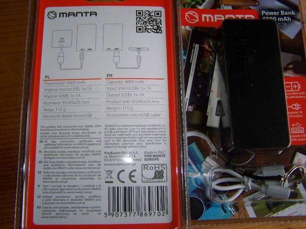 Power Bank-4000mAh modem internetu
