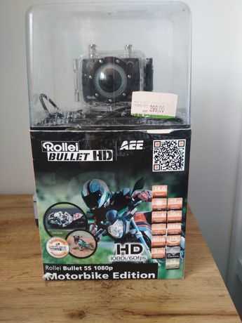Rollei bullet 5s 1080p 60fps kamera sportowa