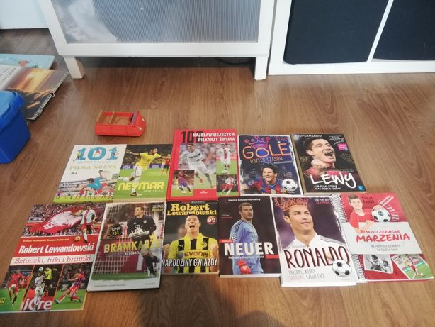 Neuer Ronaldo Lewandowski piłka nożna książka