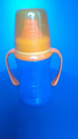 Lovi nowy kubek niekapek 290 ml niebieski