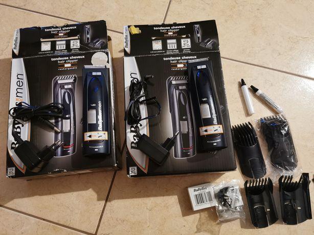 Dwie Maszynki do włosów Babyliss e682e