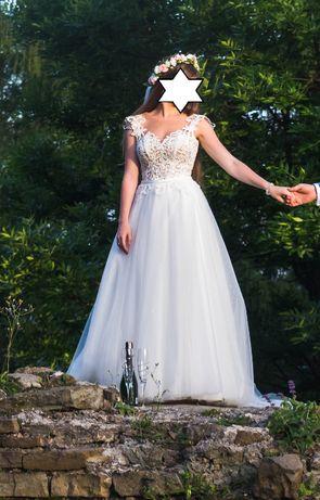 Piękna suknia ślubna Natalia Adesso 34/36